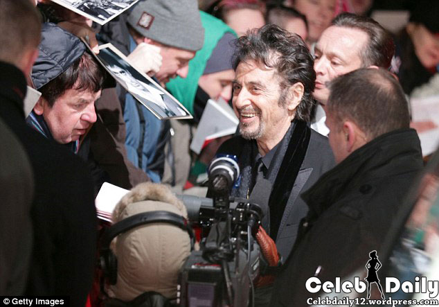 al pacino golden camera 6