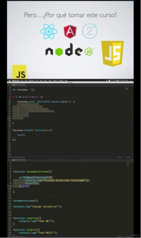 Curso ECMAScript 6: Avanza tu conocimiento de JavaScript (2017)