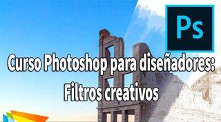 Video2Brain: Curso Photoshop para diseñadores: Filtros creativos (2017)