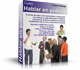 Como Hablar en Publico – Carlos Gallego [Video Curso]