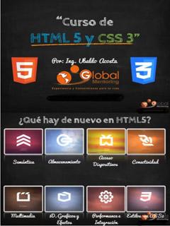 Globalmentoring: Curso de HTML5 y CSS3