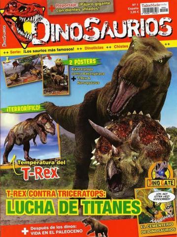 Dinosaurios Número 1 – Lucha de Titanes 2015