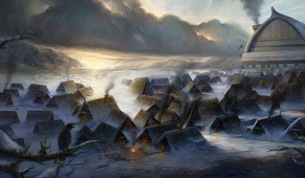 village snowy fantasy tundra deviantart rpg dragonborn medieval crisis villages human setting save settlement bear intrest ooc almara wizards coast