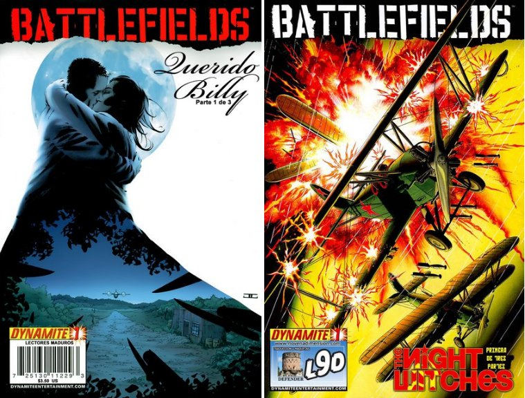 Battlefields – 6 Tomos – Garth Ennis
