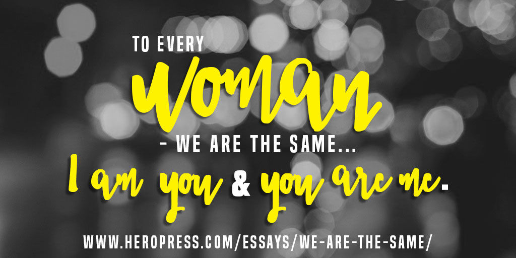 We Are The Same - HeroPress