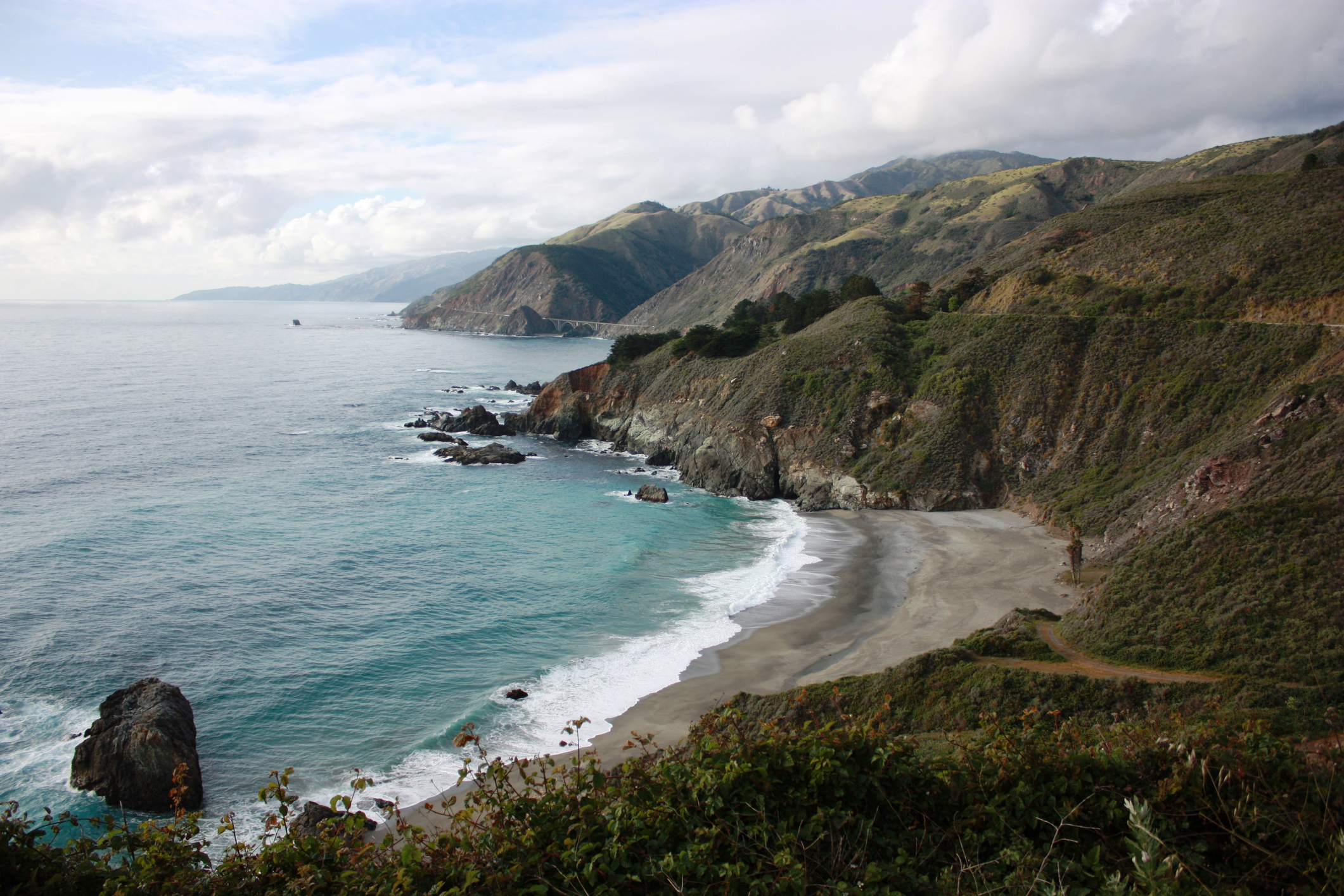 Beautiful coastline of Big Sur California. USA - Marriott Vacation Club