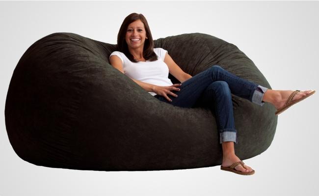 foam bean bag chair ikea folding the fuf memory oversized beanbag