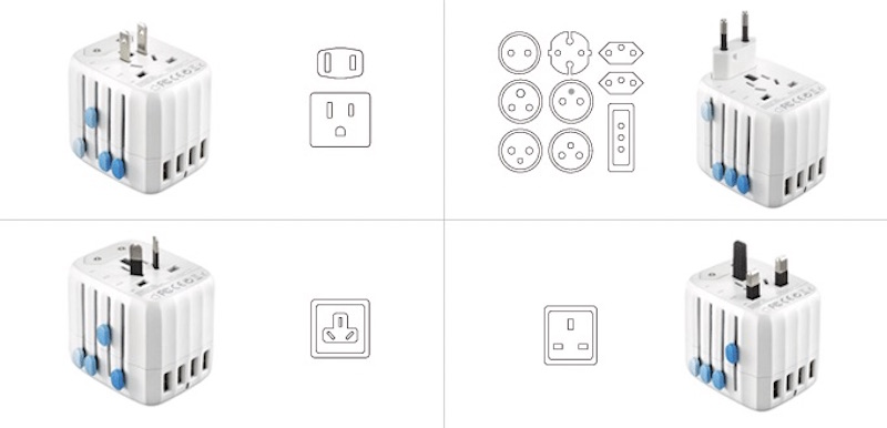 The Passport Is a Fail-Safe Universal Travel Adapter and