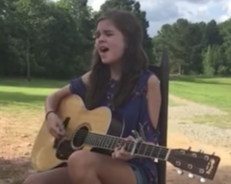 13YearOld Girls Powerful Rendition of Go Rest High on That Mountain Is Sending Goosebumps