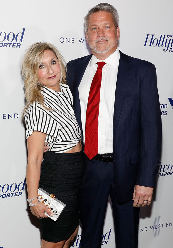 Bill Shine with his wife Darla Shine