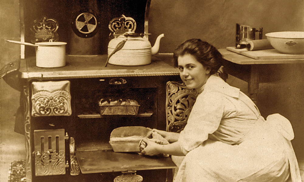 kitchen cook stoves unique accessories ranges on the range true west magazine woman cooking in a 19th century stove
