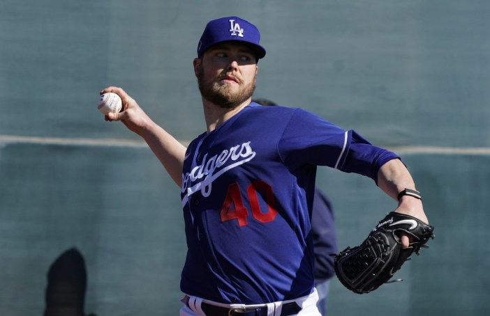 Dodgers Spring Training: Jimmy Nelson, Dustin May Dealing With ...