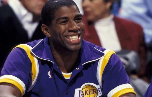 This Day In Lakers History Magic Johnson Retires From NBA