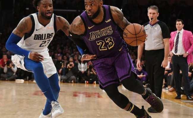 Lakers News Lebron James Charged Into Luka Doncic On