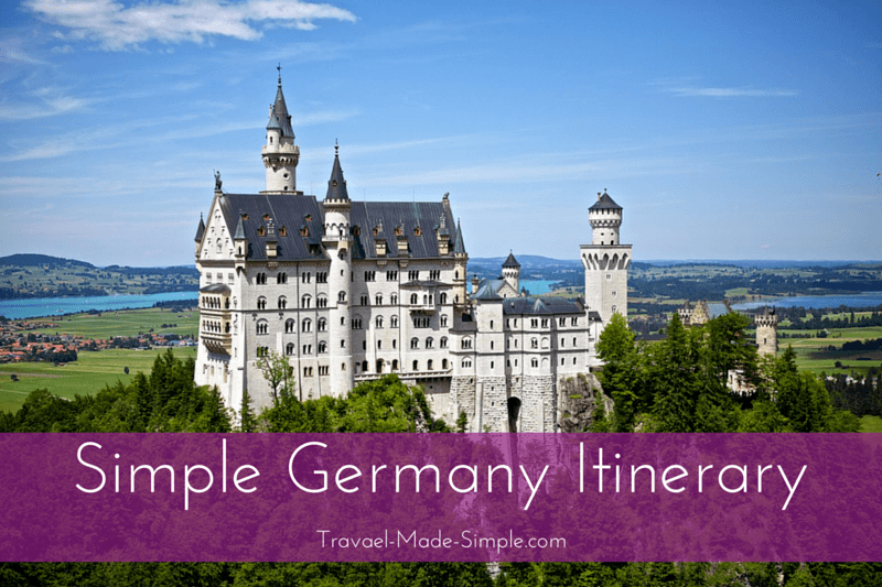 planning your germany itinerary
