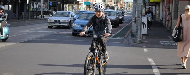 bike riders spend more