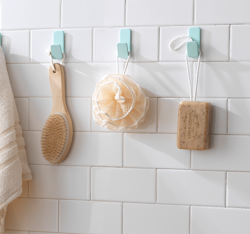 how to remove self adhesive hooks from