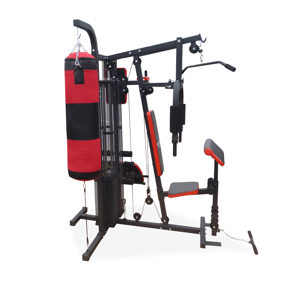 Weight Bench Weight Workout Stand Punching Bag Barbell