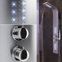 shower panel fitting rain shower shower fitting waterfall ...