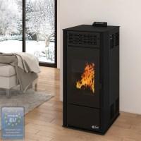 Pellet stove 6 kW heater pellet heating furnace heater ...