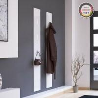 Wall panel hinged hook coat rack hook rail wall coat rack ...