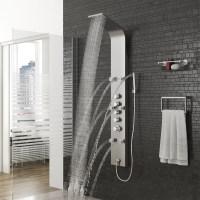 shower panel stainless steel shower column shower panel ...