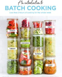 Batch Cooking Cookbook