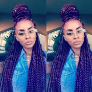 7 box braids hairstyles