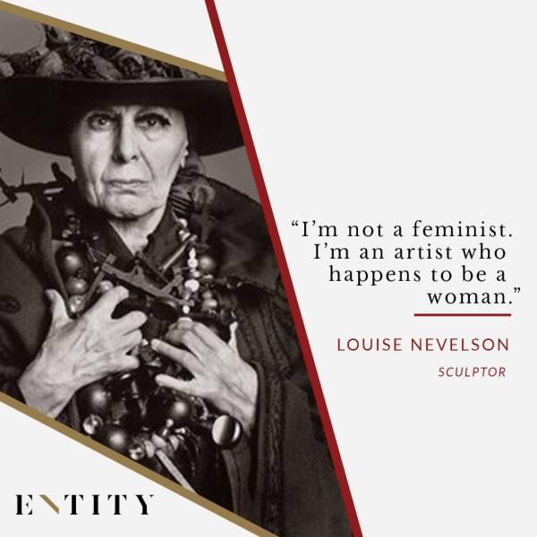 Louise Nevelson Feminist Legend Marks