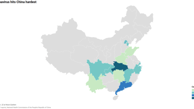 China Coronavirus Cases by Province | Times Leader