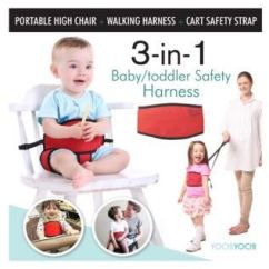 Portable High Chair Baby Royal Chairs For Rent 2019 Best Travel Clip 3 In 1 And Harness From 27