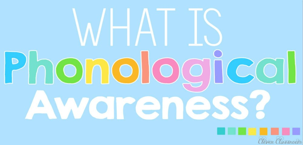 medium resolution of Why is Phonological Awareness So Important?   The TpT Blog