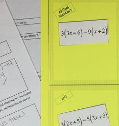 4 Tips and Tricks for Teaching Students How to Solve Linear Equations   The  TpT Blog [ 920 x 1914 Pixel ]