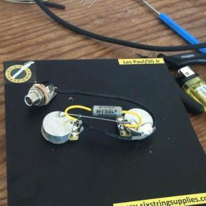 There we have it  how to wire a Les Paul Junior  one of the most simple yet versatile wiring