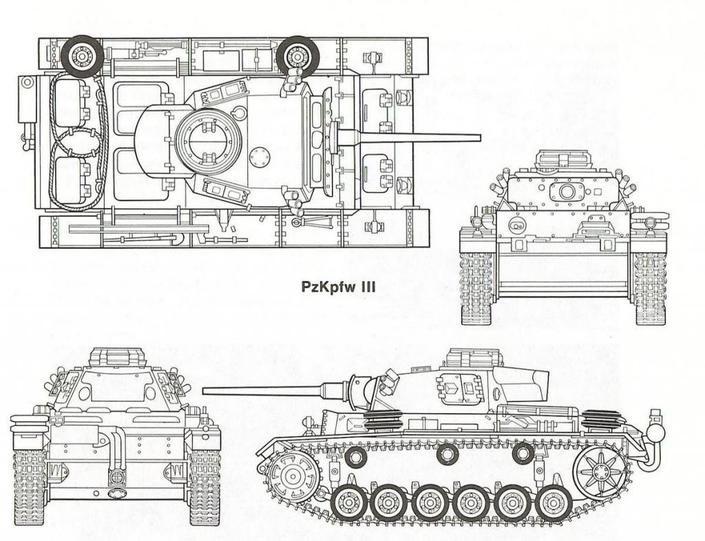 Panzerkampfwagen Iii Carro Medio
