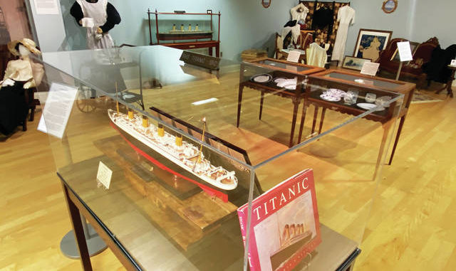 The Titanic is one of the ships on display at the KYGMC until Dec. 31.