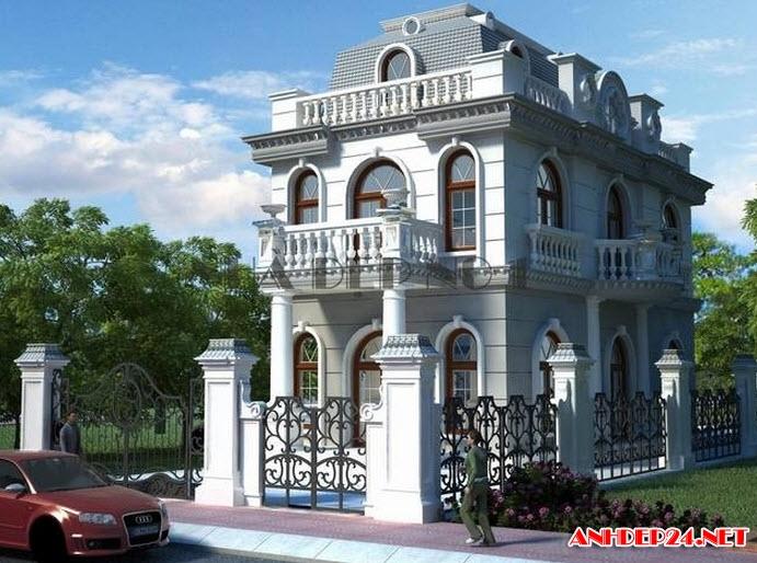 Top 15 mẫu nhà đẹp 2 tầng với thiết kế sang trọng hiện đại