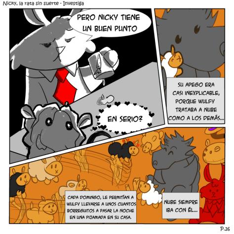 Nicky rata sin suerte comic
