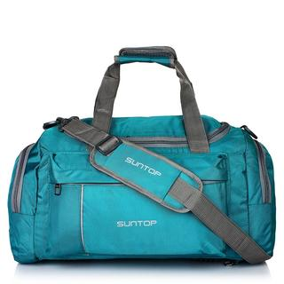 Suntop Alive Nylon Polyester 40 Litres 20 Inch Sea-Green Travel Duffle, travel duffle online india