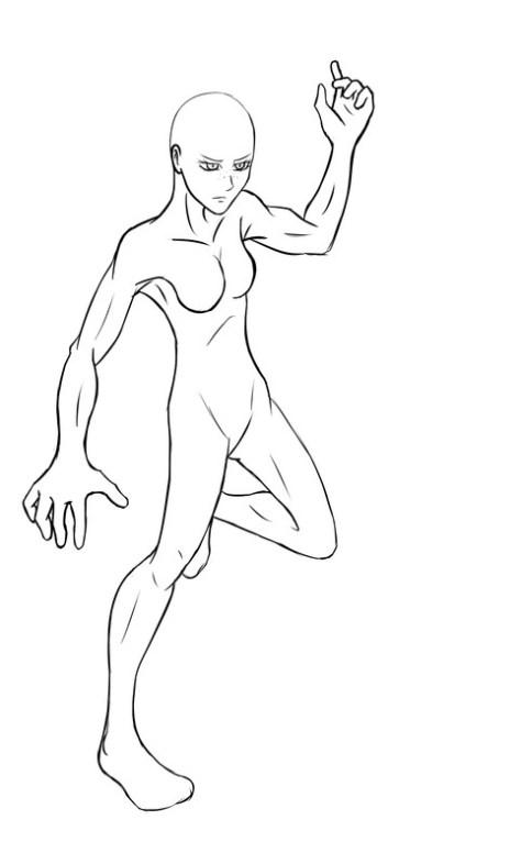 Mukuro ikusaba drawing process