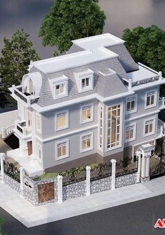 Top 17 ngôi nhà đẹp phong cách Châu Âu trong trọng quý phái