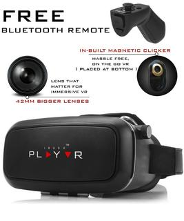 IRUSU PLAY VR Headset - vr headset with free Remote controler, best vr headset to buy in India 2018