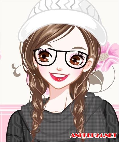 avatar ngón tay dễ thương