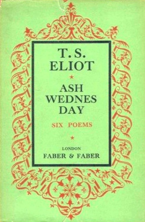 ash wednesday eliot # 17