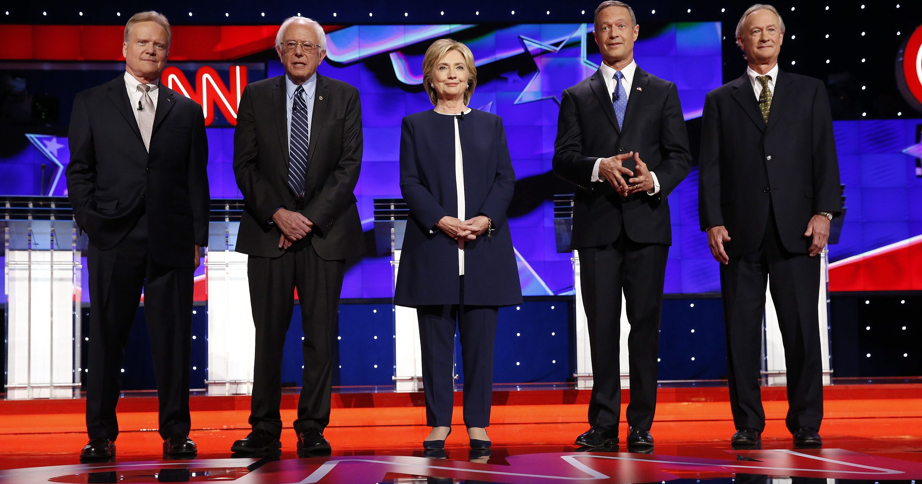 The First Democratic Party Debate A Spinglish English