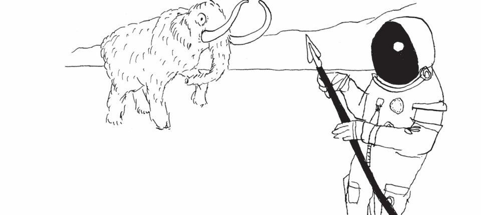 Jason Novak Illustrates Ron Padgett's