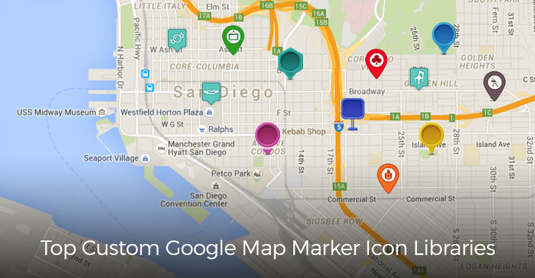 the top google maps
