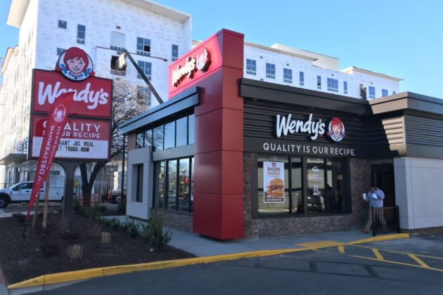 newly renovated wendy s