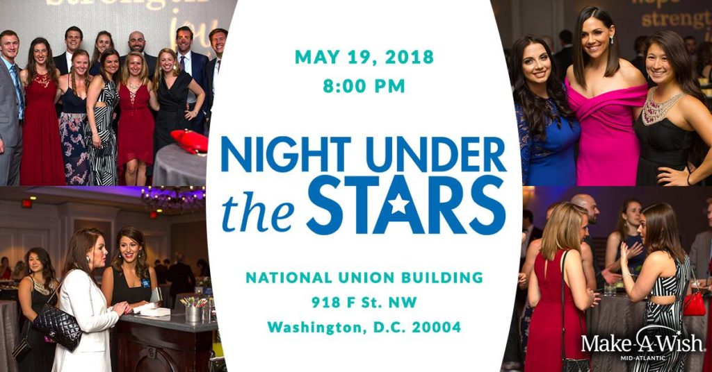 PoPville Make A Wish Mid Atlantic Night Under The Stars Gala