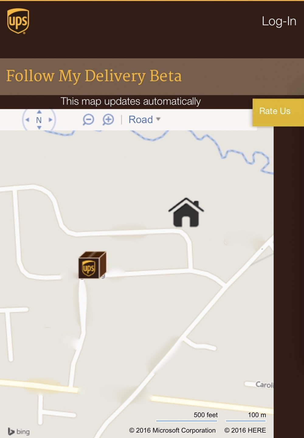 Ups Truck Tracker Map : truck, tracker, Follow, Delivery, Maping, Resources